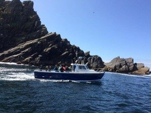 Skellig-Islands landing boat