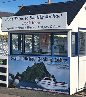 skellig michael cruises book office portmagee