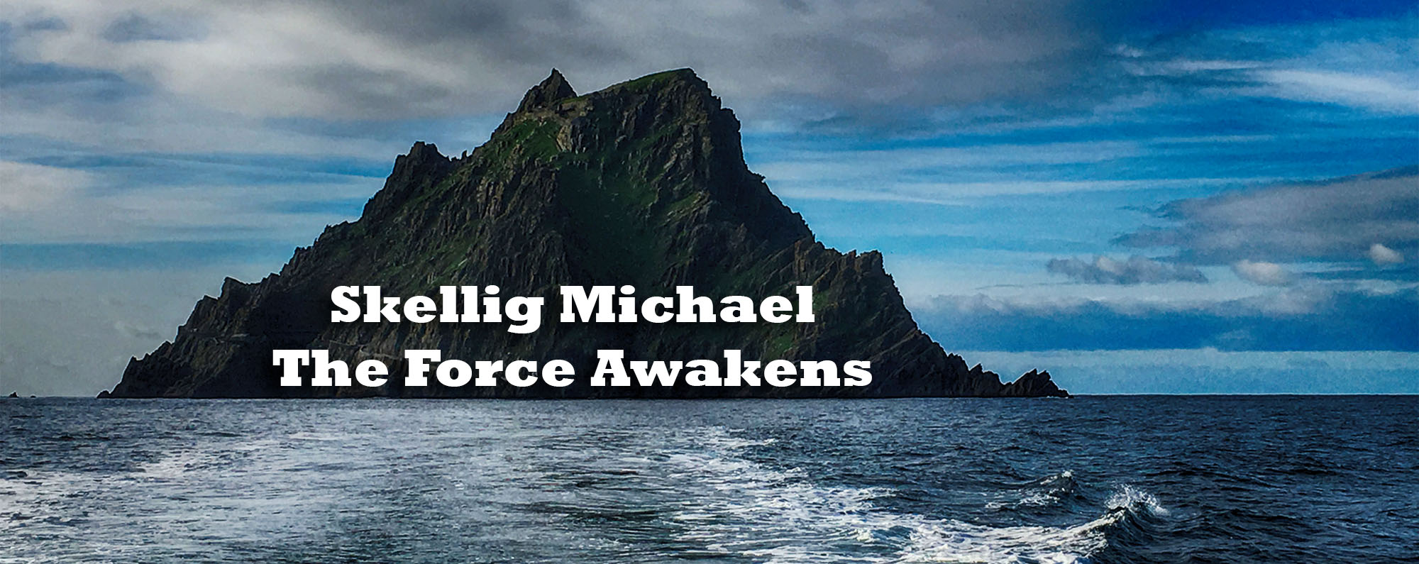 Skellig Michael The Force Awakens