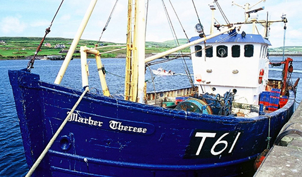marber terese fishing boat