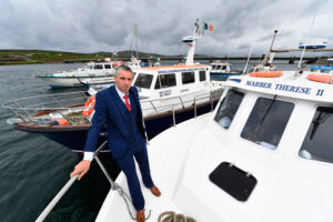 Paul Devane owner of Skellig Michael Cruises Portmagee